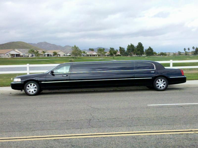 Black Stretch Limo by Coachman Enterprises Limo Service