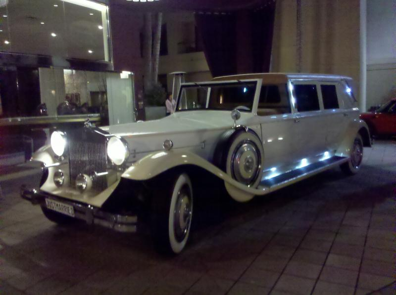 Rolls Royce Limo by Coachman Enterprises Limo Service
