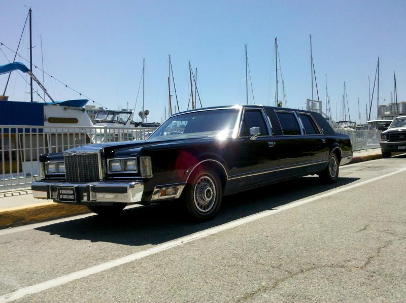 85 Lincoln Limo by Coachman Enterprises Limo Service